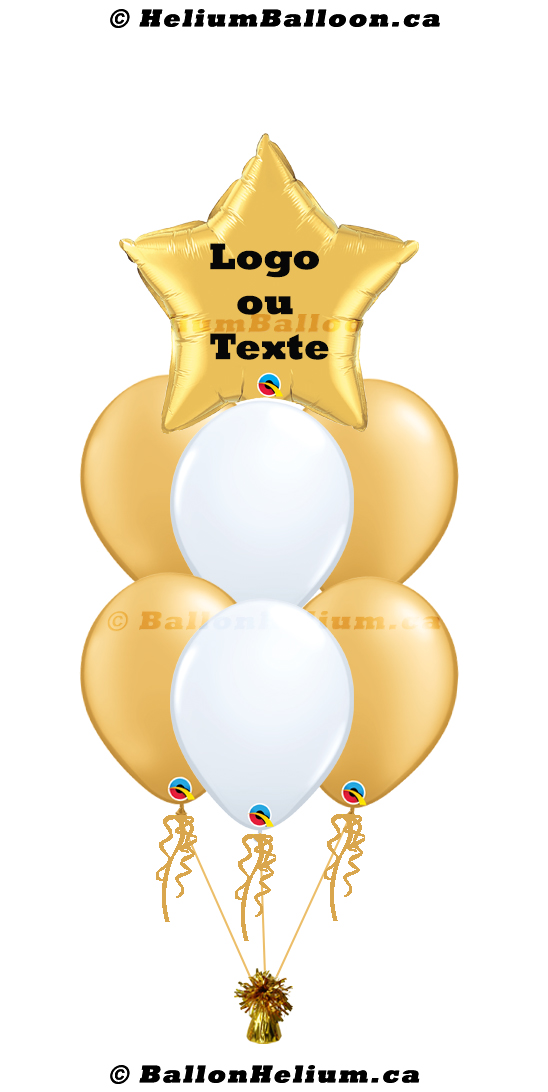 Personalized balloon_17'' Star_Name/Logo/Message
